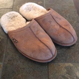 UGG Slippers Men's Size 12 Unisex Brown